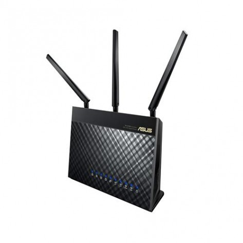 Roteador Asus Gigabit Wireless-AC1900 Dual-Band - 600 + 1300 Mbps