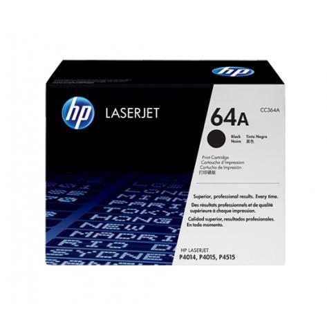 Toner Preto HP LaserJet 64A (CC364A)