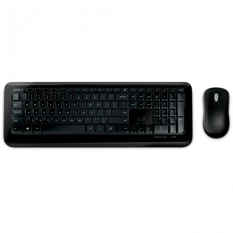 Teclado e Mouse Microsoft Desktop 850 - ABNT2 - USB - Wireless