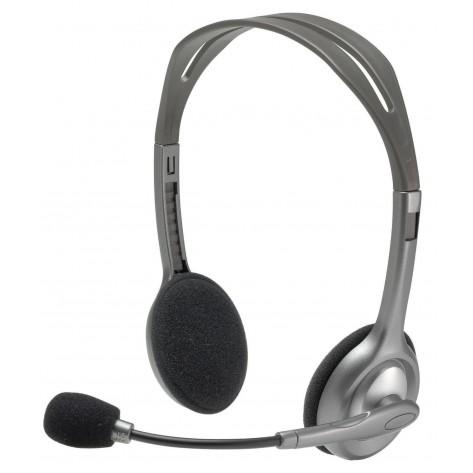 Fone de ouvido Headset - Logitech Stereo - H110