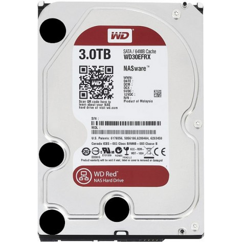 HD 3TB (3000GB) Western Digital Sata III - 64MB - Buffer