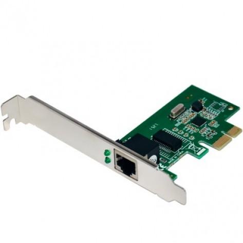 Placa de Rede PCI-E Multilaser GA150 - 10/100/1000 Mbps