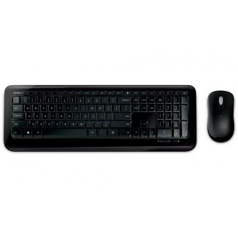 Teclado e Mouse Microsoft Desktop 850 - ABNT2 - USB - Wireless