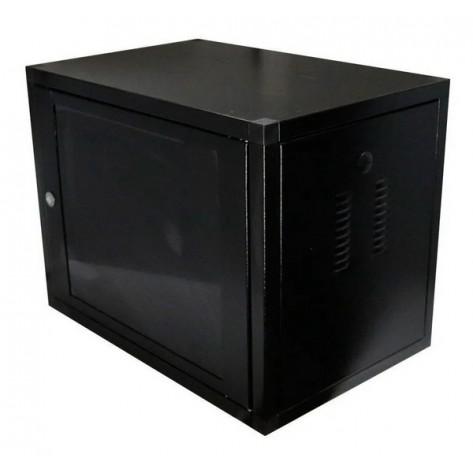 Mini Rack 19'' - Desmontável - 8U 570MM - 1 Ventilador