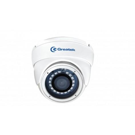 Câmera DOME Greatek SEGC-1025D para Segurança Eletrônica com Infra-Vermelho 720p 20M 2.8mm