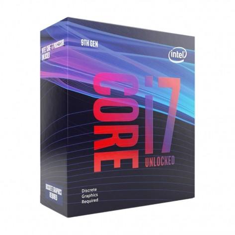 Processador Intel Core i7-9700KF BX80684I79700KF - Coffee Lake Refresh, Cache 12MB, 3.6GHz (4.9GHz Max Turbo), Unlocked, Sem Vídeo - LGA 1151