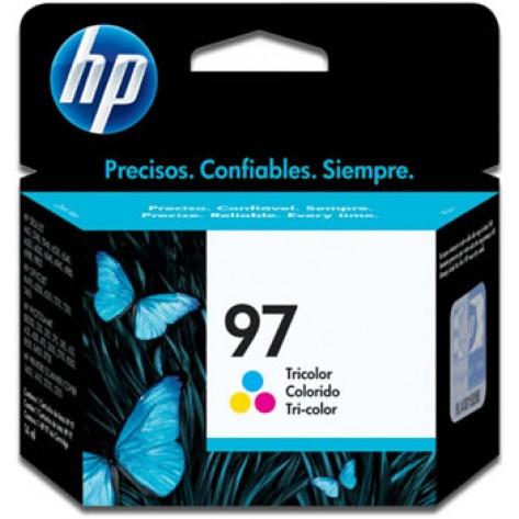 Cartucho colorido de impressão Inkjet tricolor HP 97 (C9363WB)