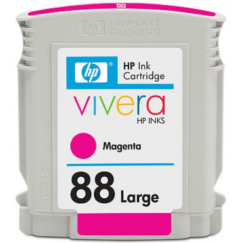 Cartucho colorido de tinta Officejet magenta HP 88XL (C9392AL)