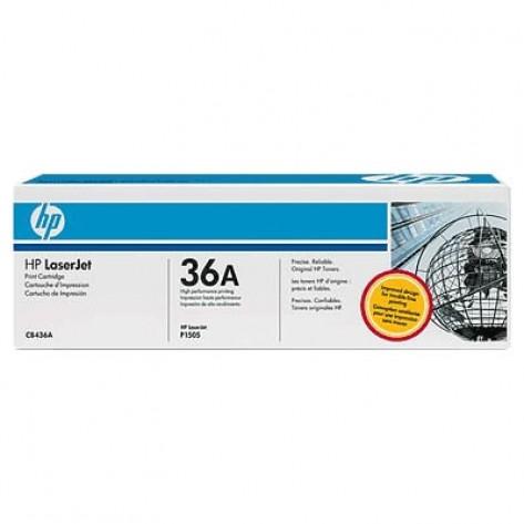 Toner preto HP LaserJet 36A (CB436A)