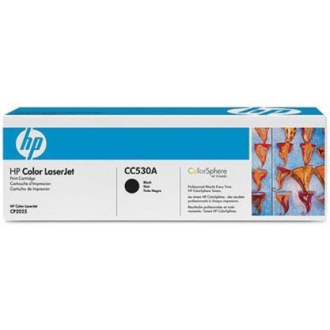 Toner preto HP LaserJet CC530A