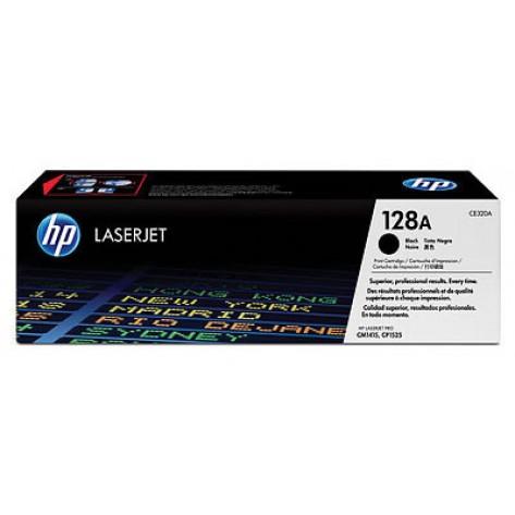Toner preto HP LaserJet 128A (CE320A)