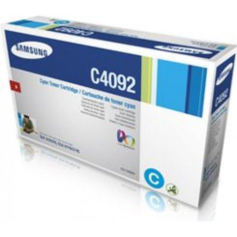 Toner Samsung ciano CLT-C409S para séries CLP-310, CLP-315, CLX-3170, CLX-3175