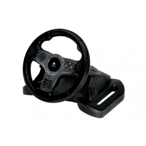 Volante Logitech Driving Force Wireless - PS3 e PS2