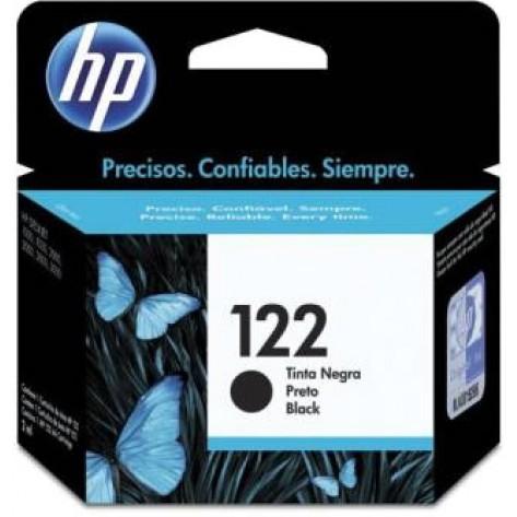 Cartucho preto de impressão jato de tinta HP 122 (CH561HB)