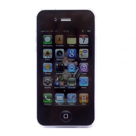 Capa para iPhone 4 Geonav IPH4-01CT - Acrílico (dura) - Transparente