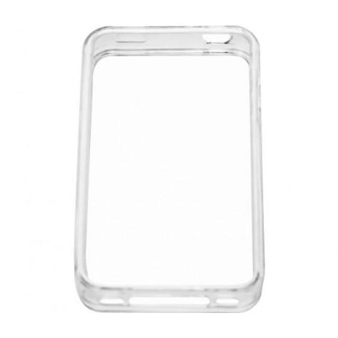 Bumper para iPhone 4 Geonav IPH4-BUMT - Protetora de PU - Transparente