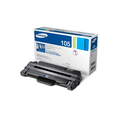 Toner Samsung preto MLT-D105S para séries ML-2525, ML-2525W, SCX-4600, SCX-4623F, SF-650, SF-650P