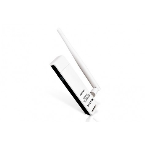 Adaptador Wireless TP-LINK TL-WN722N - USB - 150Mbps