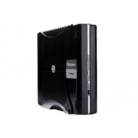 Thin client Supera SP2716S - 1.86GHz, 2GB, HD 320GB - 4 Portas Serial - Preto