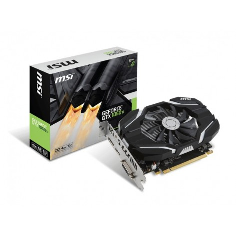 Placa de Vídeo MSI Nvidia GeForce GTX 1050 TI - 4GB GDDR5 128-Bit - PCI-Express 3.0
