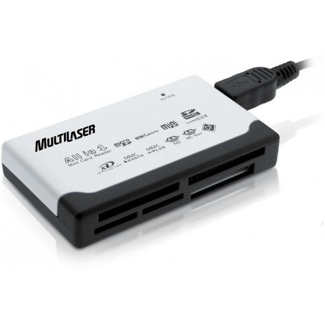 Leitor de cartão Externo Multilaser AC076 - USB
