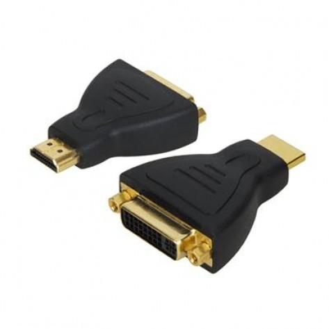 Adaptador DVI fêmea para HDMI macho