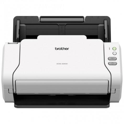 Scanner de documentos de mesa Brother ADS-2200 - 600 dpi - 35 ppm/70 ipm - Digitalização frente e verso
