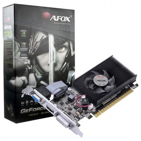 Placa de Vídeo AFOX GeForce GT210 AF210-1024D3L5-V2 - 1GB GDDR3 64 bits - PCI-Express 2.0
