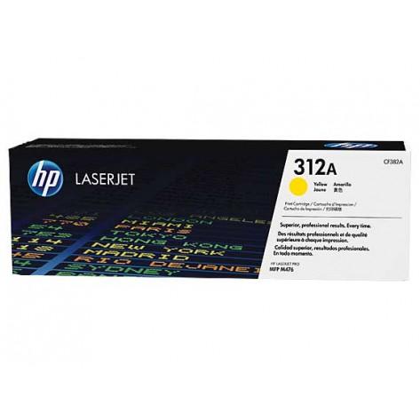 Toner Amarelo HP LaserJet 312A - (CF382A)