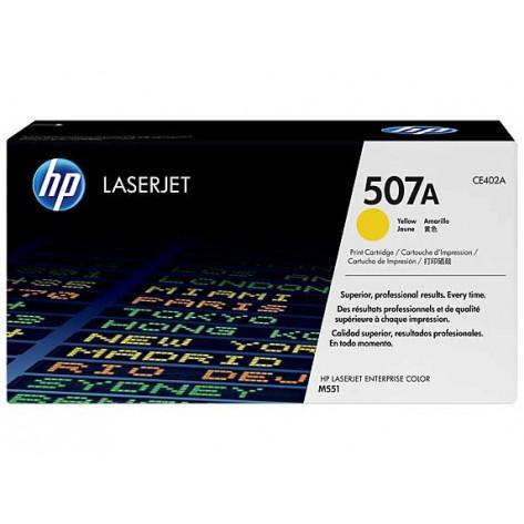 Toner Amarelo HP LaserJet - 507A (CE402A)