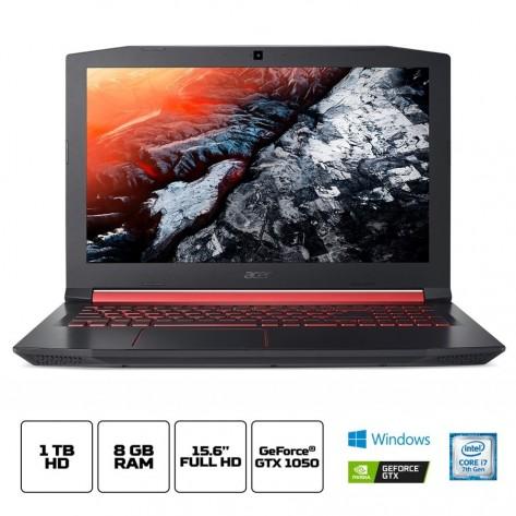 Notebook Acer Aspire Nitro 5 AN515-51-77FH - Intel Core i7-7700HQ - Tela 15.6'' FHD - 8GB RAM - 1TB HD - GeForce GTX 1050 4GB GDDR5 - Windows 10 Home