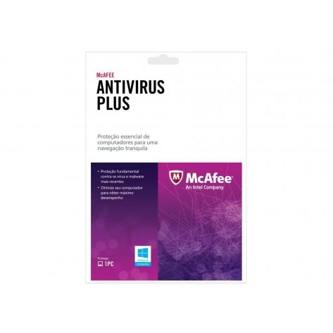 Antivírus McAfee Plus 2013 Activation Card