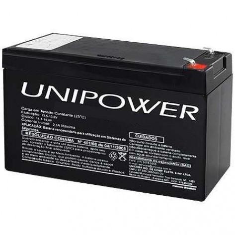 Bateria selada Unipower AP12-7 12VDC 7Ah