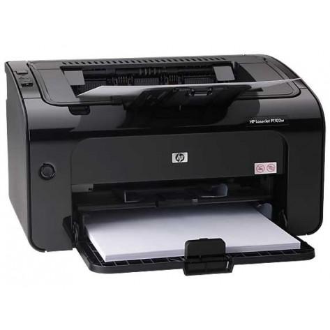 Impressora laser monocromática HP LaserJet P1102w - Wireless
