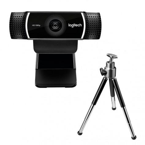 WebCam Logitech C922 Pro Stream Full HD - 1080p/30fps 720p/60fps