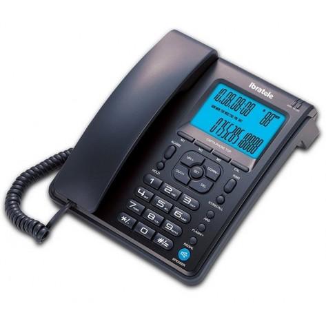Telefone com fio Bright Capta Phone Top 0457 - Identificador Chamadas - Preto