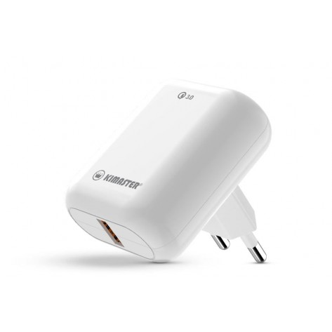 Carregador Universal USB Turbo 3.0 - Kimaster T101