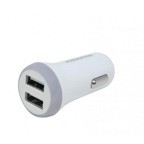 Carregador Veicular com Duas Entradas USB - Kimaster K105