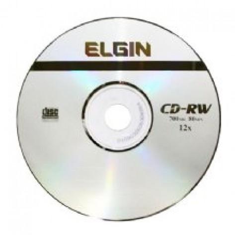Mídia CD-RW 700MB Elgin