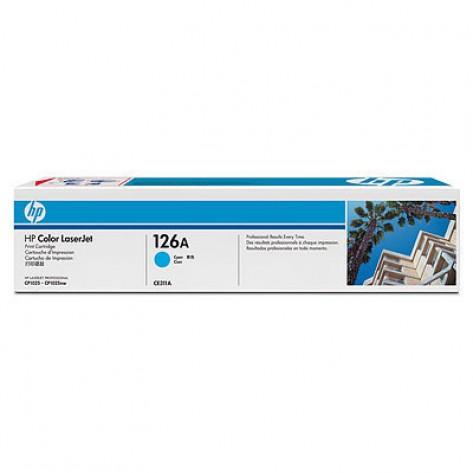 Toner Ciano HP LaserJet 126A (CE311A)