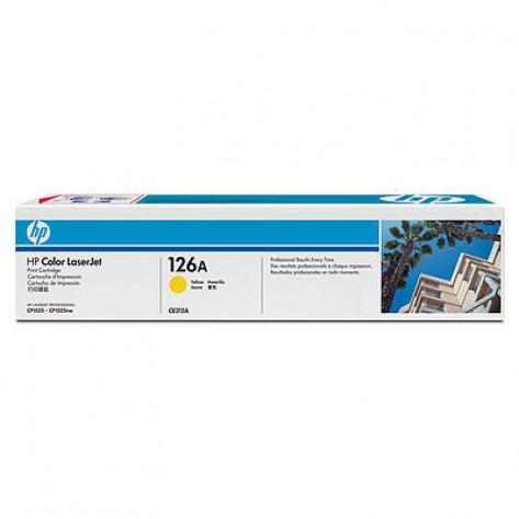 Toner Amarelo HP LaserJet 126A (CE312A)
