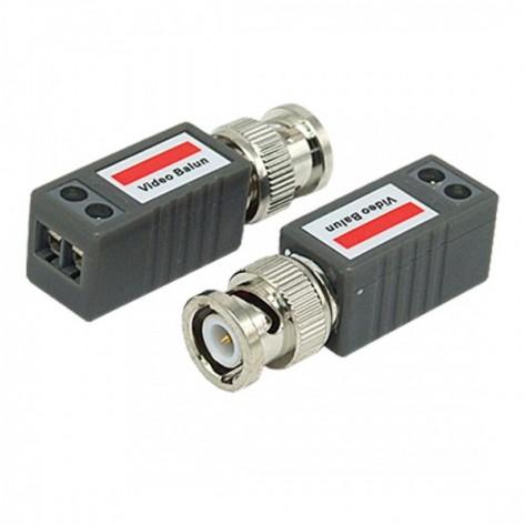Conector de video Balun Passivo 1 canal - 400/600mts