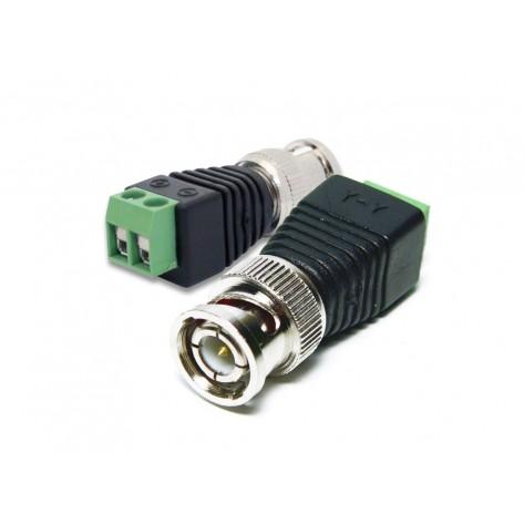 Adaptador Borne para Plug BNC Macho