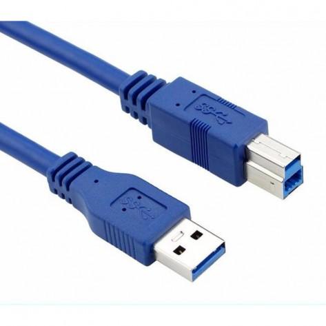 Cabo USB 3.0 AM para BM - 1.8 Metros