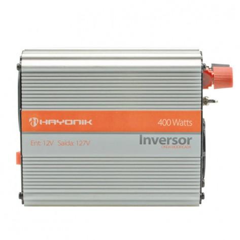 Fonte Inversora Hayonik de Onda Modificada 12V/127V USB - 400W