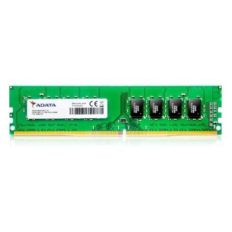 Memória 4GB DDR4 Adata AD4U2400W4G17-BGN - PC4-19200 (2400MHz) - DIMM