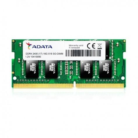 Memória para Notebook 8GB DDR4 Adata AD4S240038G17-S - PC4-19200 (2400 MHz) - SODIMM