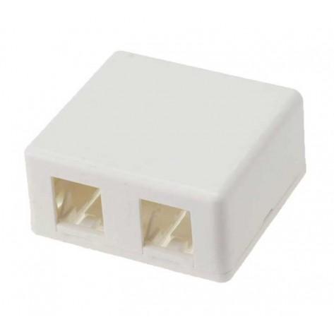 Caixa para sistema X para 2 Portas HDMI padrão Keystone