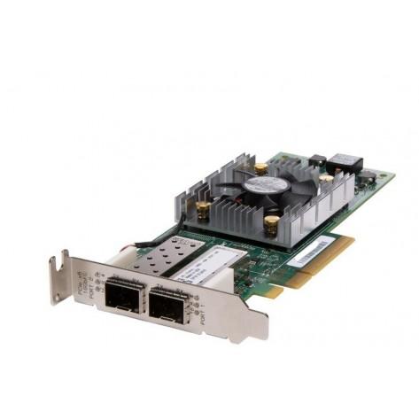 Placa de Rede QLogic Dell QLE2662L-DEL - PCI-Express - Dual Fibra 16Gb - Low Profile