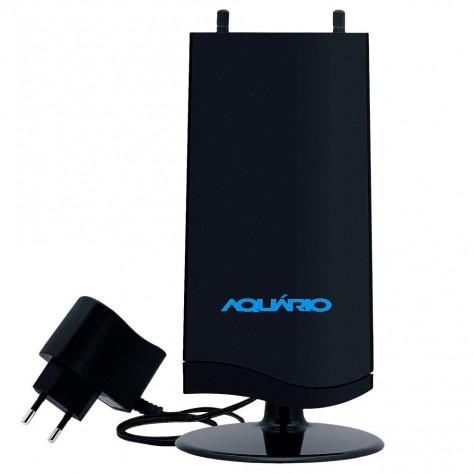 Antena Digital Amplificada VHF/UHF/FM/HDTV - Aquario DTV-4600